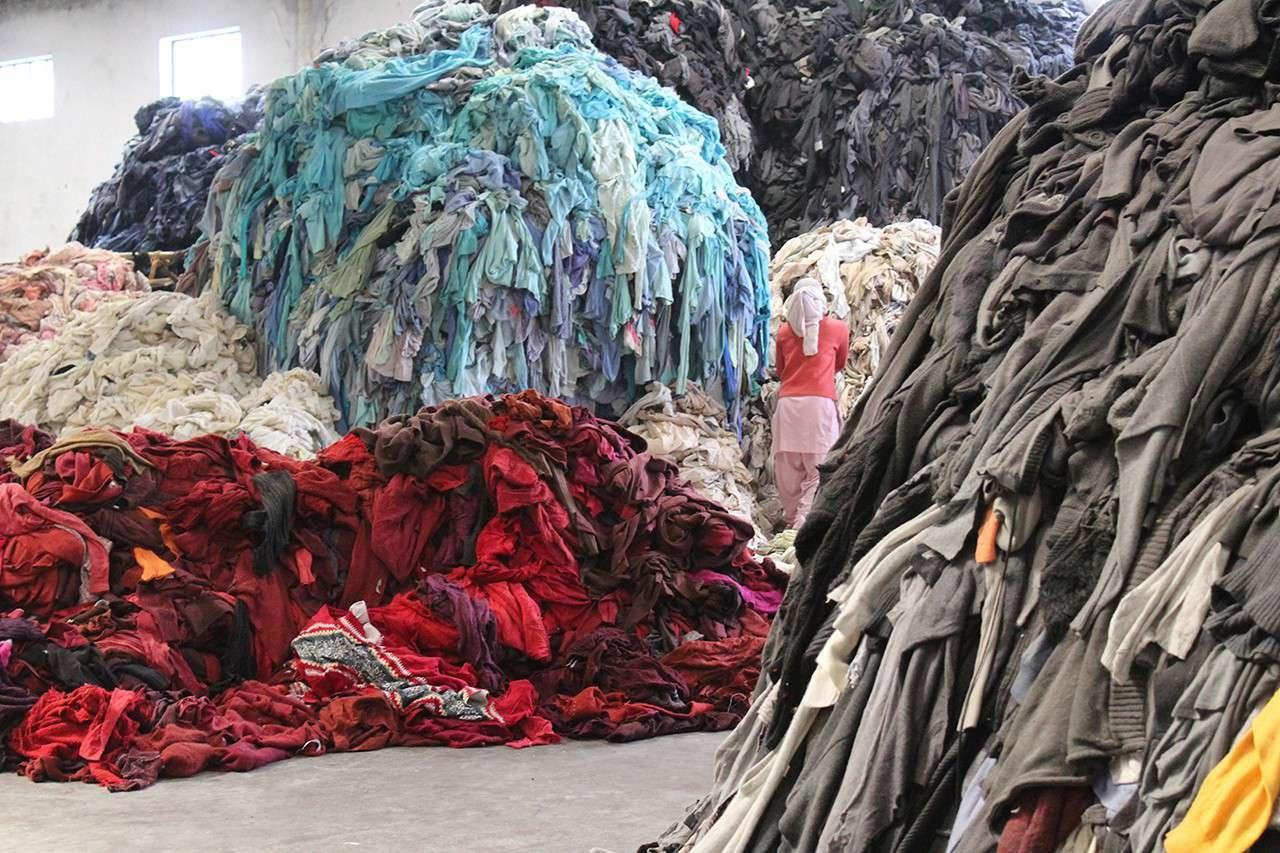 Вопросы производства одежды и ее утилизации